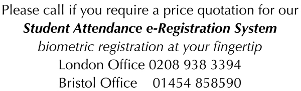 student attendance e-registration systems
