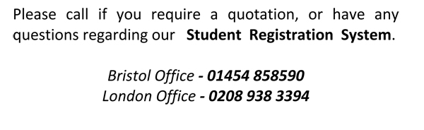 student registration please call